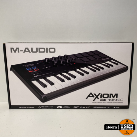 M-Audio AXIOM Air Mini 32 Mini Controller Keyboard ZGAN in Doos