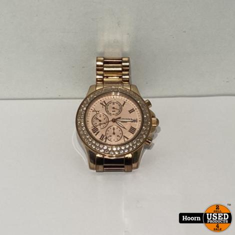 Vendoux MR19480-10 Dames Horloge Rose Staal 39mm