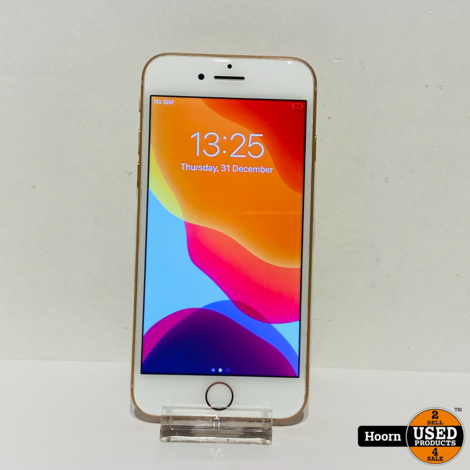 iPhone 8 64GB Gold Los Toestel incl. Lader Accu: 88% In Nette Staat