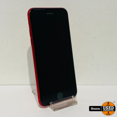 iPhone 8 64GB RED Los Toestel incl. Lader Accu: 84% In Nette Staat