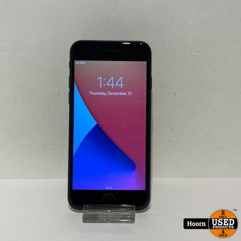 iPhone 7 128GB Zwart Los Toestel incl. Lader Accu: 86% In Nette Staat