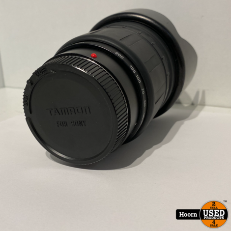 Tamron AF Aspherical LD (IF) 28-200mm 1 : 3.8-5.6 voor Sony incl. Zonnekap