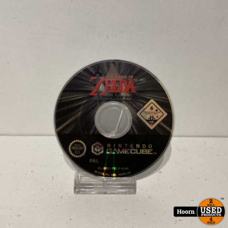 Nintendo Gamecube Game: The Legend of Zelda Collector's Edition Losse Disc
