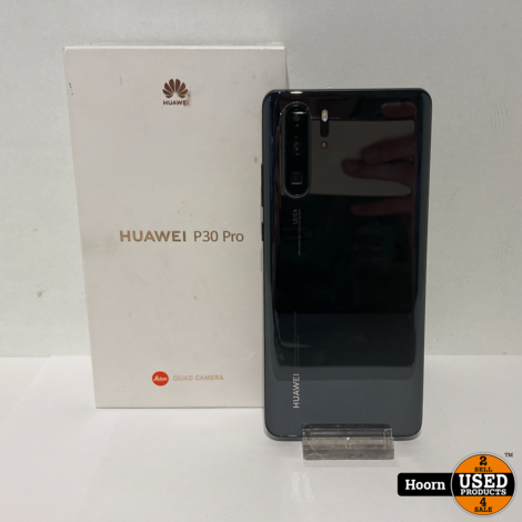 Huawei P30 Pro 128GB Black Los Toestel incl. Snel Lader