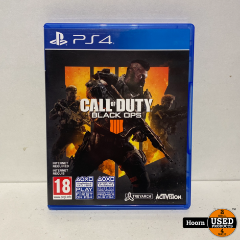 Playstation 4 Game: Call of Duty Black Ops 4