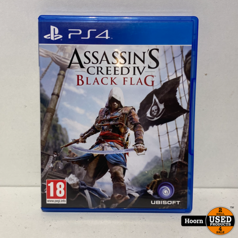 Playstation 4 Game: Assassin's Creed IV Black Flag