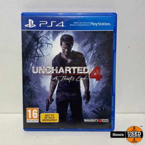 Playstation 4 Game: Uncharted 4: A Thief's End
