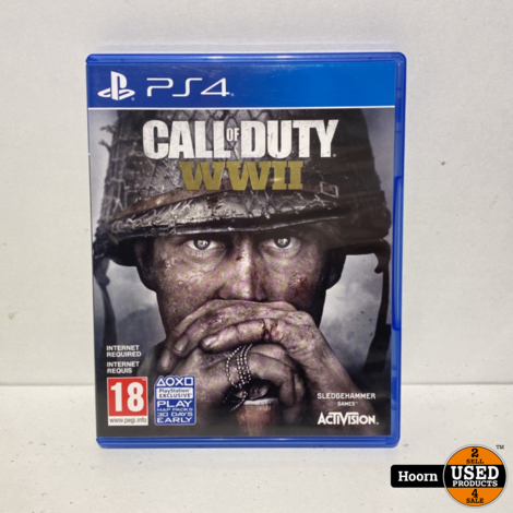 Playstation 4 Game: Call of Duty WWII
