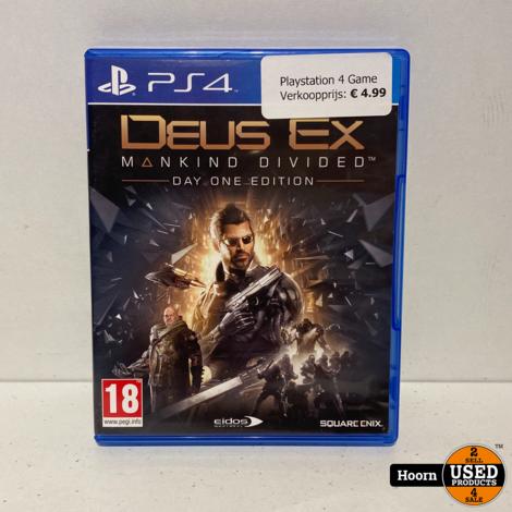 Playstation 4 Game: Deus Ex
