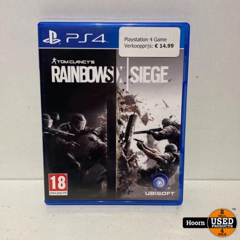 Playstation 4 Game: Tom Clancy's Rainbow Six Siege