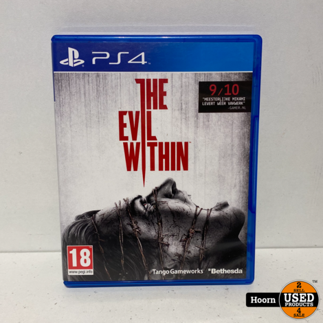 Playstation 4 Game: The Evil Within