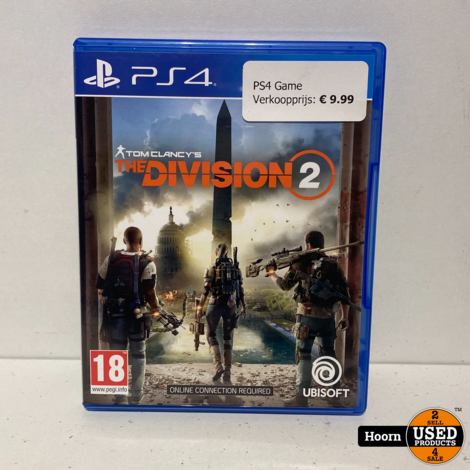 Playstation 4 Game: The Division 2