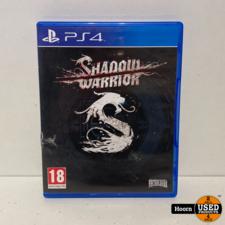 Playstation 4 Game: Shadow Warrior