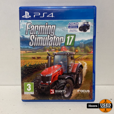 Playstation 4 Game: Farming Simulator 17