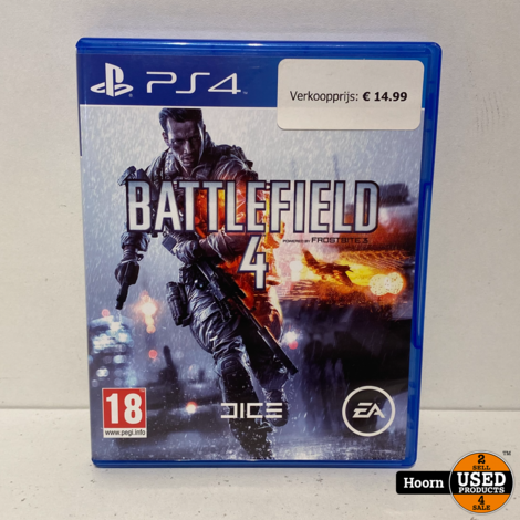 Playstation 4 Game: Battlefield 4