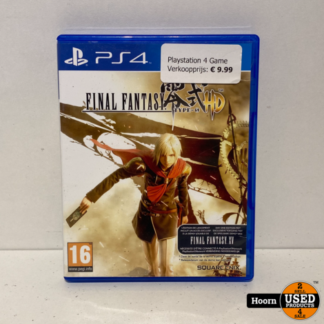 Playstation 4 Game: Final Fantasy Type-0 HD