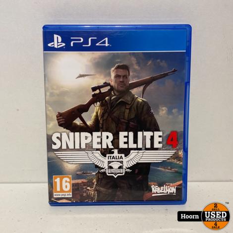 Playstation 4 Game: Sniper Elite 4
