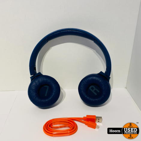 JBL T450BT Draadloze Bluetooth Koptelefoon Pure Bass Blauw incl. lader