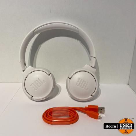 JBL T450BT Draadloze Bluetooth Koptelefoon Pure Bass Wit incl. lader