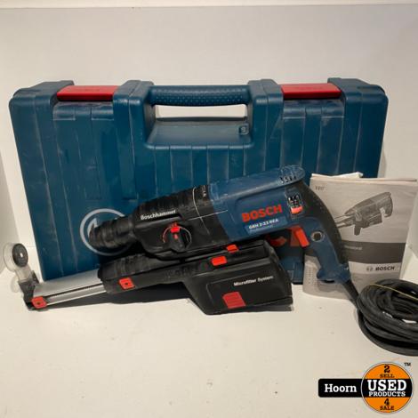 Bosch Professional GBH 2-23 REA Boorhamer met Afzuiging 710W 230V in Koffer507