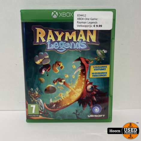 XBOX One Game: Rayman Legends