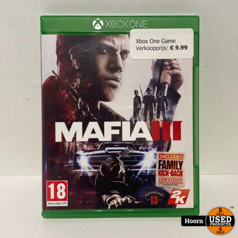 XBOX One Game: Maffia III