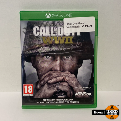 XBOX One Game: Call of Duty WWII