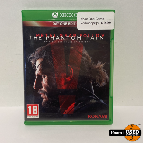 XBOX One Game: Metal Gear Solid V The Phantom Pain