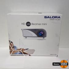Salora 40BHD1200 Led Beamer WiFi HDMI 1200 Lumen (HD 1080) Nieuw in Doos
