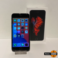 iPhone 6S 16GB Space Gray in Doos incl. Lader Accu 81%