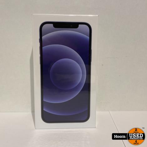 iPhone 12 128GB 5G Black Nieuw in Seal