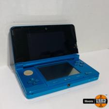 Nintendo 3DS Aqua Blue Met Oplader