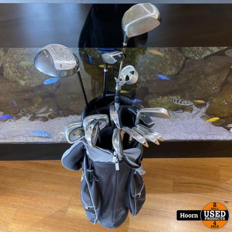 Golfset 13 Delig Kanzen, Ram En King Cobra in Mercury Tas