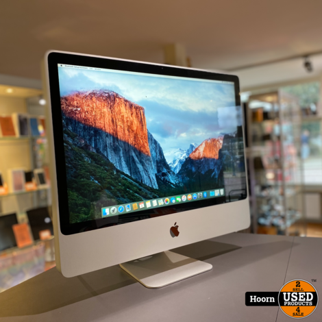 Apple iMac 24 inch Early 2009 | 2.6GHz | 4GB | 240GB SSD | Nvidia Geforce in Nette Staat