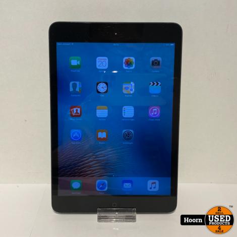 Apple iPad Mini 1 16GB Wifi + 3G Space Gray incl. Lader
