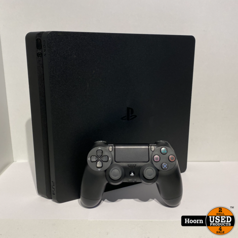Playstation 4 Slim 500GB Zwart Compleet incl. Controller