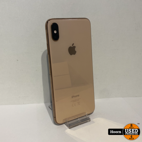 iPhone XS Max 256GB Gold Los Toestel incl. Lader Accu: 86%
