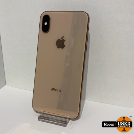 iPhone XS 64GB Gold Los Toestel incl. Lader in Nette Staat Accu: 85%
