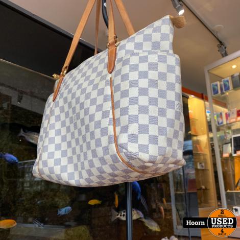 Louis Vuitton Azur Totally PM Damier White Canvas Handbag