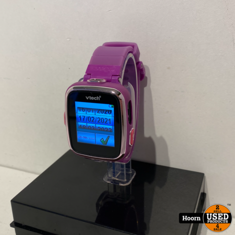 VTech Kidizoom VT7256 Smartwatch Roze Compleet in Box incl. Lader