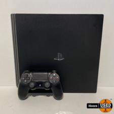 sony Playstation 4 Pro 1TB Zwart Compleet met Controller