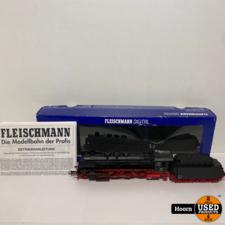 Fleischmann 413671 Tender Locomotive of the DB, class 39.0-2, With Sound in Doos met Papieren in Zeer Nette Staat