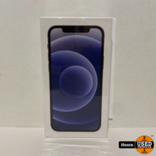 Apple iPhone Apple iPhone 12 256GB Zwart 5G Nieuw in Seal Met Bon