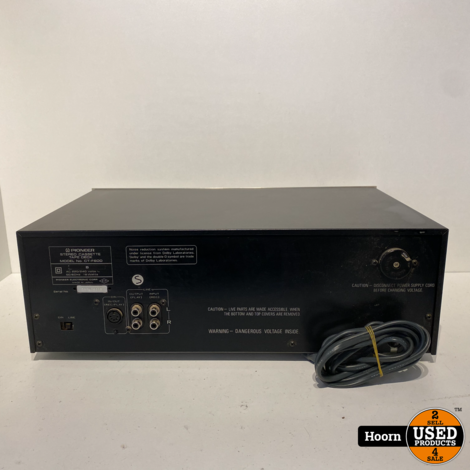 Pioneer CT-F600 Stereo Cassette Tape Deck