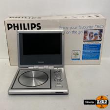 Philips PET710 Portable DVD Player Compleet in Doos