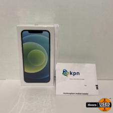 Apple iPhone iPhone 12 256GB Green 5G Nieuw in Seal Met Bon