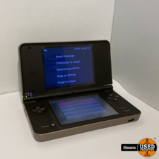 Nintendo DSi XL Bruin incl. Lader