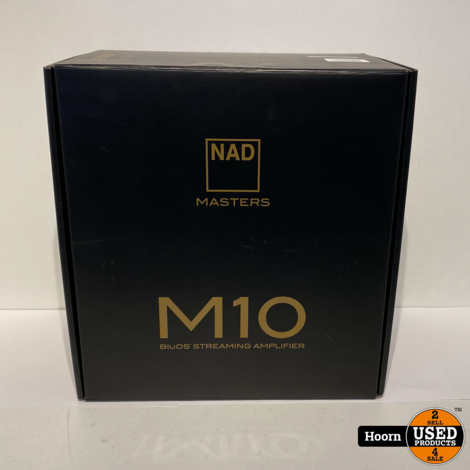 NAD M10 Compacte all-in-one Streamer Versterker Nieuw in Doos