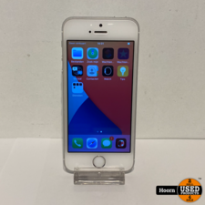 Apple iPhone iPhone SE 32GB Silver Los Toestel incl. Lader Accu: 91%