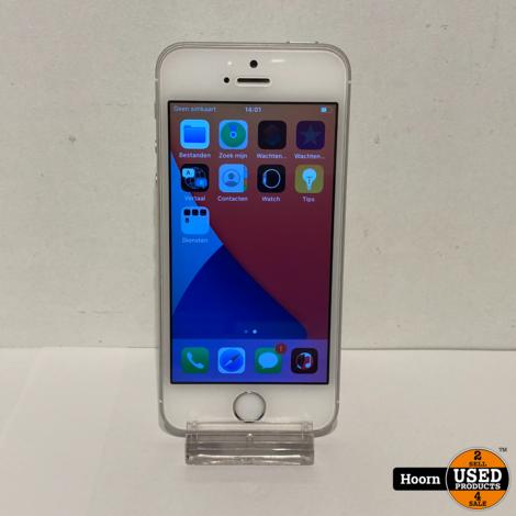 iPhone SE 32GB Silver Los Toestel incl. Lader Accu: 91%